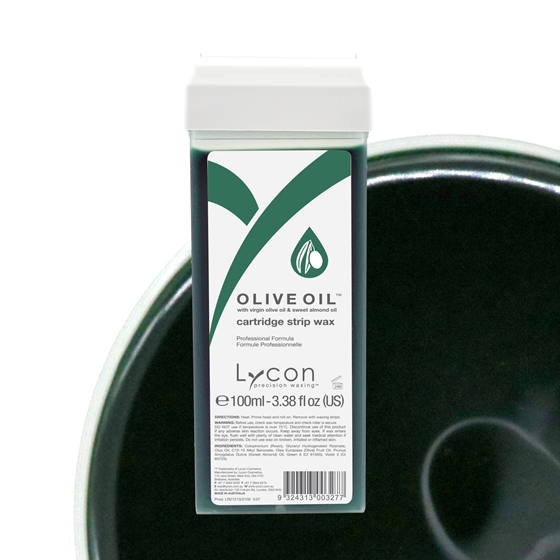 Picture of Olive Strip Wax Cartridge