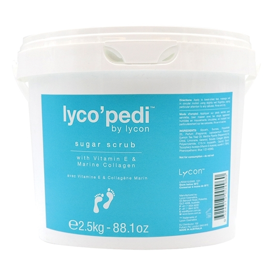 Picture of 2.5 Kg Lyco'Pedi Sugar Scrub