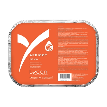 Picture of Blushing Secret Apricot Hot wax